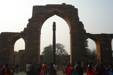 The iron pillar