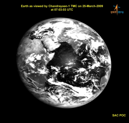 chandrayaan-earth