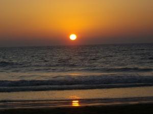Guhagar beach: sunset